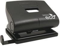 Rapesco Eco Medium 2- Hole Punch Capacity 20 Sheets Black 1086